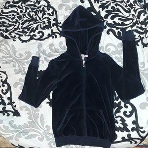 Juicy Couture: Dark Blue Hoodie Jacket, Medium